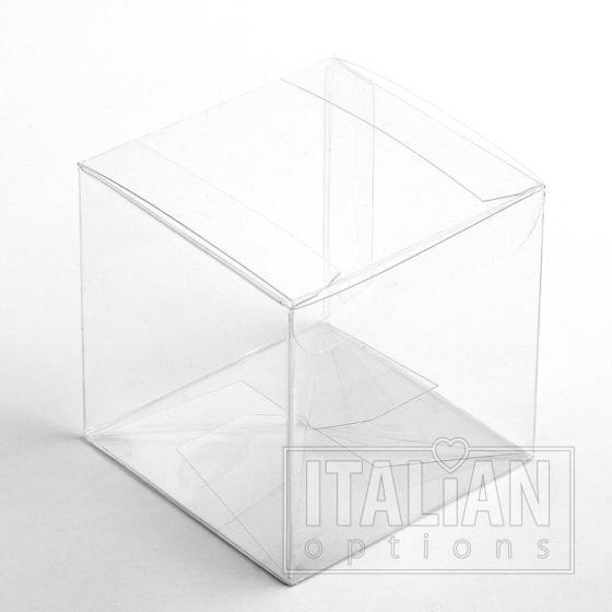 Transparent - cube box 70x70x70mm