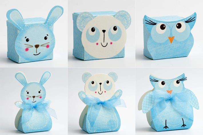 Blue Friends children's boxes