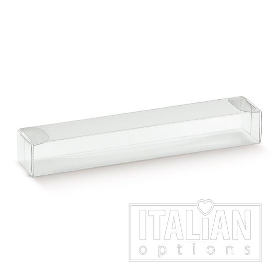 Transparent - rectangular box 150x25x20mm - 10 Pack
