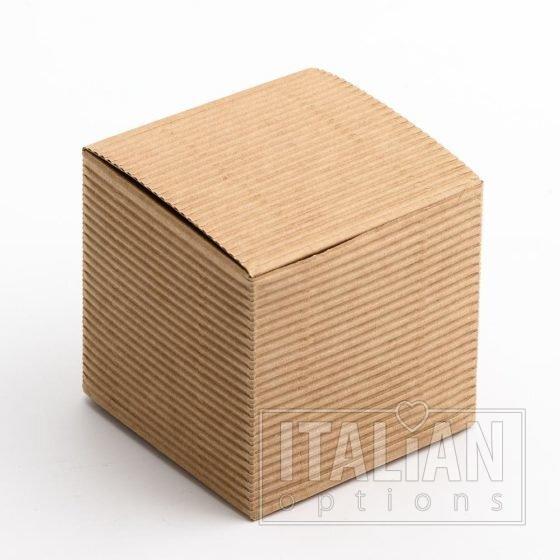 Corrugated Kraft Cube 60x60x60mm