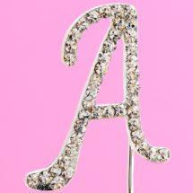 Diamante Cake Alphabet Letters