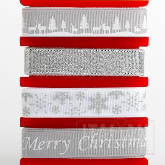 Winter Wonderland Christmas ribbons