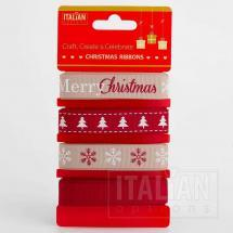 Country Christmas ribbons