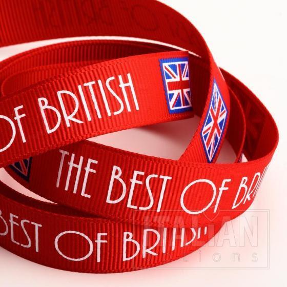 The Best of British Ribbon 16mm x 10M Grosgrain