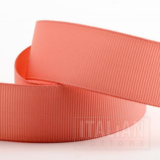 25mm Grosgrain x 10M - Rose Gold