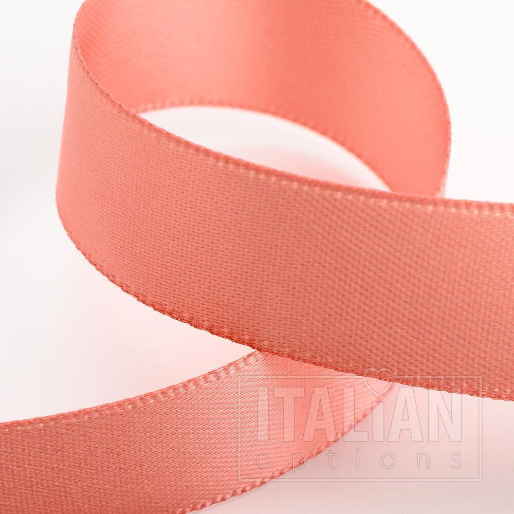 Rose pink double faced satin ribbon 3mm 10mm 16mm 25mm 38mm 50mm width