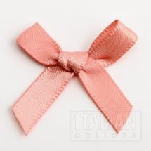 3cm Satin Bow - 100 Pack - 6mm Ribbon - Rose Gold