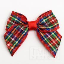 4cm Tartan Bow - Highland (12 Pack)