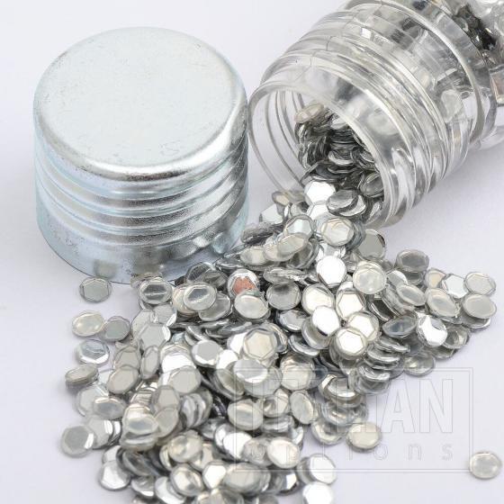 Glitzy Sparkles Silver - 4x10g Jars