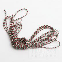 Bakers Twine 2mm x 50M - Red / White / Green