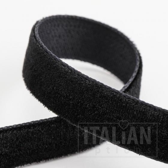 Velvet Ribbon 9mm x 10M - Black