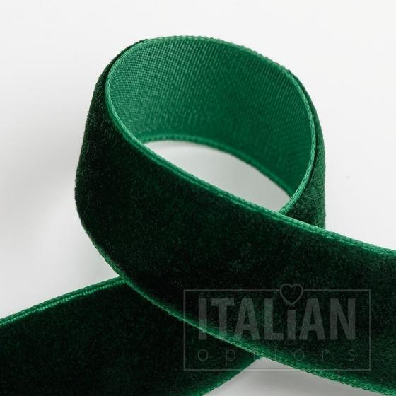 Velvet Ribbon 18mm x 10M - Bottle Green