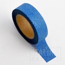 AdhesiveWashi Tape - Glitter - Sapphire 15mm x 10M