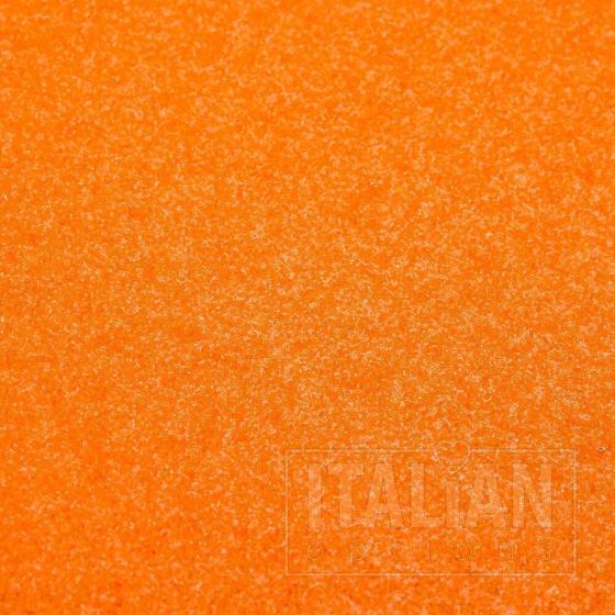 A4 Glitter Card - Orange detail