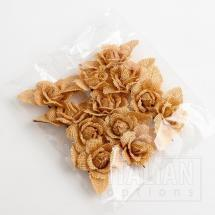 Hessian Rose - Dark Natural (12 Pack)