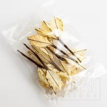 11cm Large Poinsettia - Ivory (6 Pack)