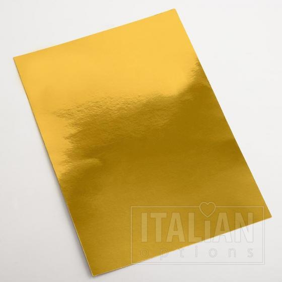 A4 Gold Mirror Card (10 Pack)