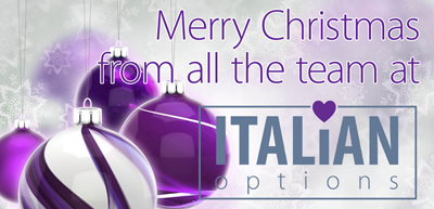 Italian Options Merry Christmas