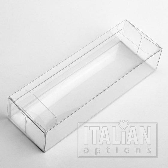 Transparent Box (side closure) 130x35x25mm - 10 Pack