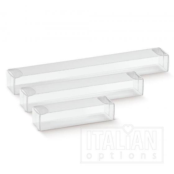 Transparent – rectangular box