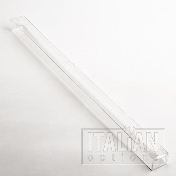 Transparent Box (side closure) 400x25x20mm - 10 Pack