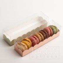 Macaroon Box / Elegance Pink Insert 160x50x50mm - 10 Pack