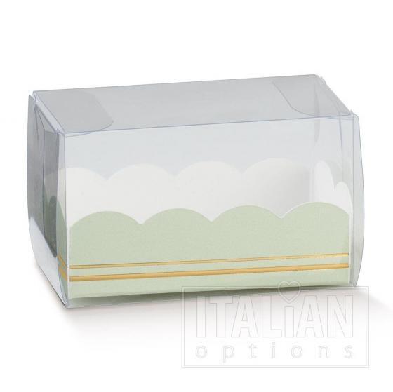 Macaroon Box / Elegance Green Insert 80x50x50mm