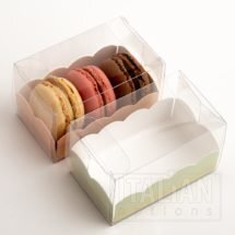 Macaroon Box / Elegance Green Insert 80x50x50mm