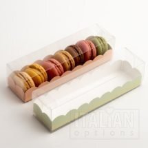 Macaroon Box / Elegance Green Insert 160x50x50mm