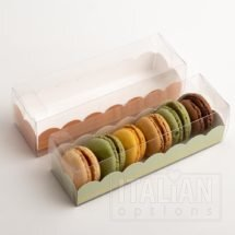 Macaroon Box / Elegance Green Insert 190x50x50mm