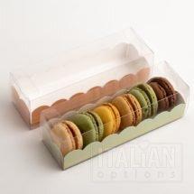 Macaroon Box / Elegance Green Insert 190x50x50mm