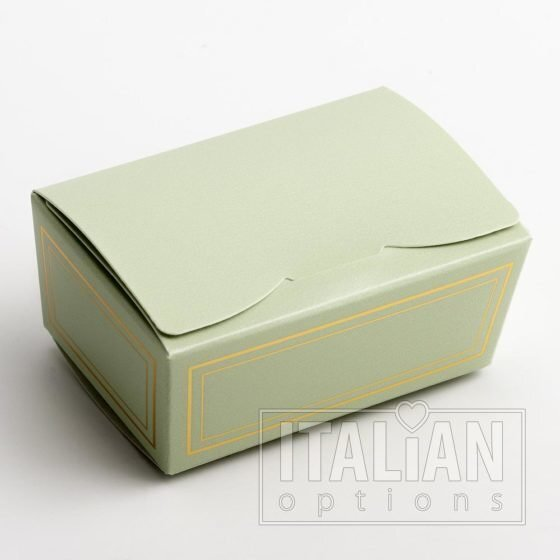 Elegance Green Ballotin Chocolate Box