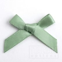 Sage Green Satin Ribbon 3cm Bow