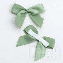 Green Satin Ribbon 5cm Bow