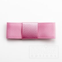 5cm Dior Satin Bows (Self Adhesive) - 12 pcs - Antique Pink