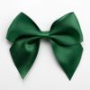 Bottle Green - 10cm Satin Ribbon Bow - (Self Adhesive) - 6 Pack
