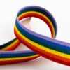 Rainbow Stripe Grosgrain Ribbon - 10mm, 16mm, 25mm, & 38mm