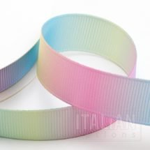 Pastel Rainbow Grosgrain Ribbon - 6mm, 10mm, 16mm, 25mm & 38mm