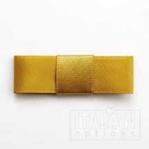 5cm Dior Satin Bows (Self Adhesive) - 12 pcs - Gold