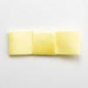5cm Dior Satin Bows (Self Adhesive) - 12 pcs - Lemon