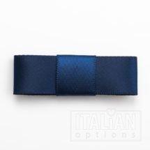 5cm Dior Satin Bows (Self Adhesive) - 12 pcs - Navy