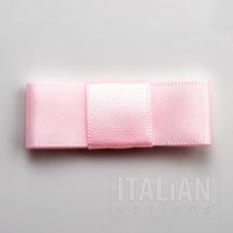5cm Dior Satin Bows (Self Adhesive) - 12 pcs - Pale Pink