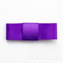 5cm Dior Satin Bows (Self Adhesive) - 12 pcs - Purple
