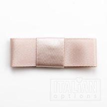 5cm Dior Satin Bows (Self Adhesive) - 12 pcs - Taupe