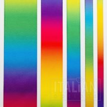 Rainbow Satin Ribbon - 6mm, 10mm, 16mm, 25mm & 38mm