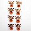 self-adhesive Glitter Reindeer's Brown