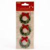 self-adhesive Glitter Wreaths