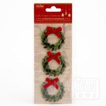 self-adhesive Glitter Wreaths