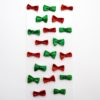 Sparkle Mini Bows Red/Green