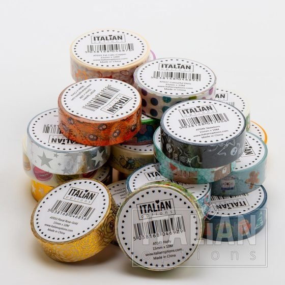 Adhesive Washi Tapes